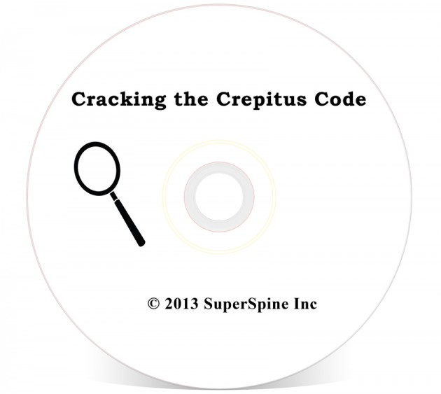 Cracking the Crepitus Code (Online Version)